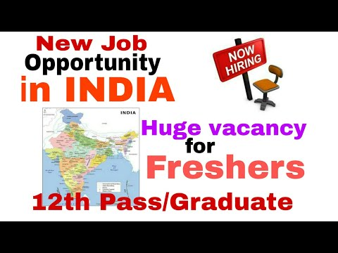 ||12 Pass and Fresh Graduate|| New JOB Opening,Big Opportunity,Huge Salary
