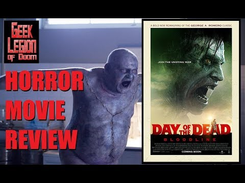 DAY OF THE DEAD : BLOODLINE ( 2018 Sophie Skelton ) Zombie Horror Movie Review