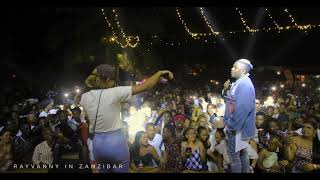 Rayvanny live performance Jennifer in Zanzibar Full moon Party