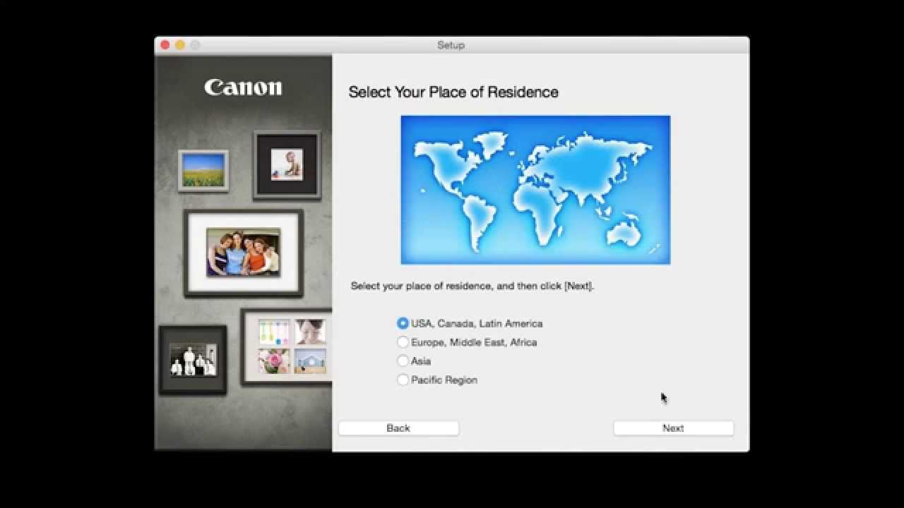 Canon PIXMA MG3520 - Cableless Setup with a Mac