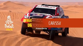 Dakar 2020 - Stage 6 (Ha'il / Riyadh) - Car/SSV Summary