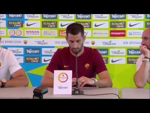 """Conferenza stampa di presentazione di Gonalons: """"La Roma è un grande club. Sono qui per vincere"""""""