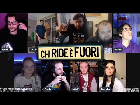 LOL: Chi ride è fuori Twitch Italia Edition! w/ Grenbaud, Dada, Michelle, Rubino, Natalia, Nello..