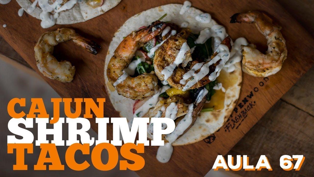 Cajun Shrimp Tacos (Como fazer Tacos) / Cansei de Ser Chef