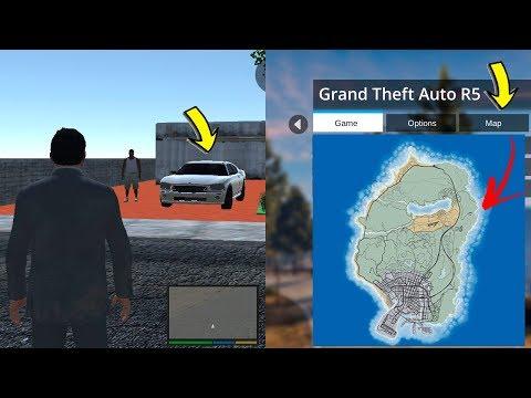 Nueva Copia de GTA 5 Movil ahora con el Mapa Completo de Gta 5 y con Auto