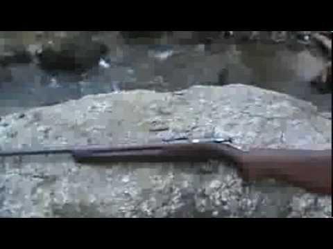 Winchester model 68 ....22 single shot rifle