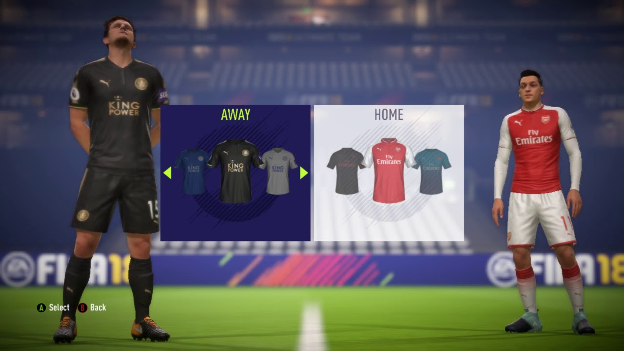 new product a9930 88a96 FIFA 18 PREMIER LEAGUE KITS & TEAM RATINGS