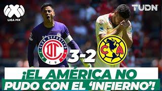 ¡Qué juegazo! Toluca vence al América en la Bombonera I Toluca 3-2 América | Clausura 2019 I TUDN
