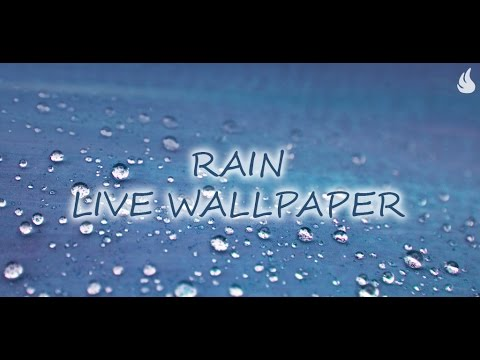 Rain Live Wallpaper - YouTube