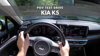 2021 Kia K5   POV TEST DRIVE