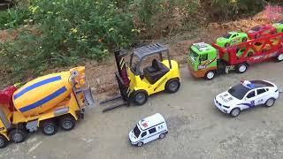 Trucks for kids    Excavator for children     Car toys     Construction   Kids Pro
