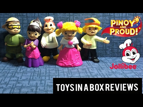 Jolly Kiddie Meal Pinoy And Pride Bubble Head Youtube