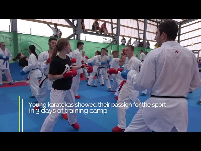 WKF Youth Camp and Cup 2018