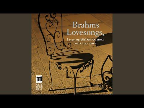 "Zigeunerlieder for Vocal Quartet and Piano, Op. 103: No. 8, ""Horch, der Wind klagt"""