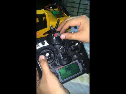 วิธีการเล่นรถแบคโฮบังคับ CAT 230 (Tel: 0898490901 KAI)