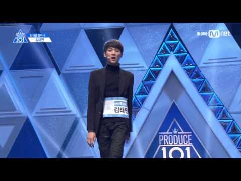 Produce 101 Season 2: Kim Taemin Ranking Performance FULL VERSION (♬ BLACK ♬)