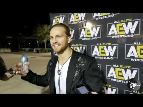 Hangman Page Interview Following All Elite Wrestling Rally