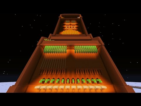 """Musical Redstone Machine plays """"Pipe Dream"""" by Animusic"""