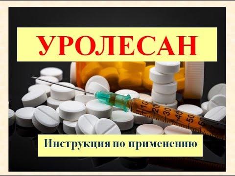 Уролесан (капли): Инструкция по применению