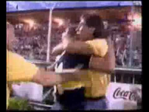 Gol de Islas a Gimnasia y Tiro (Boca 1-Gimnasia y Tiro 0 14-12-97)
