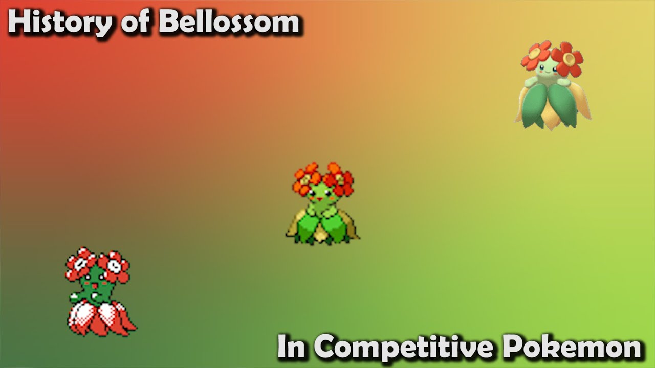How GOOD was Bellossom ACTUALLY - History of Bellossom in Competitive Pokemon