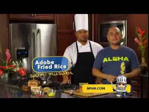 You CAN Musubi: Adobo SPAM® Fried Rice