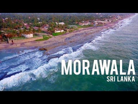 Morawala Beach Negombo, Travel in Sri Lanka. (2018)