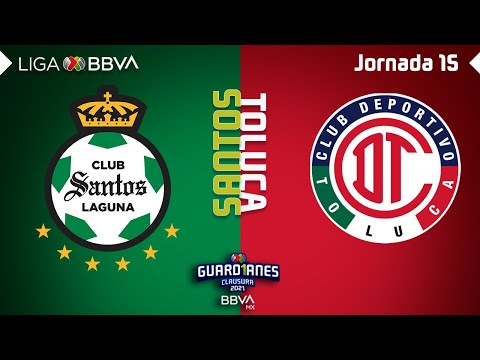Santos Laguna Toluca Goals And Highlights