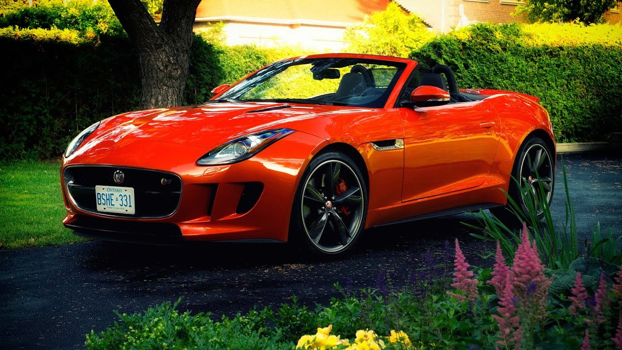 2015 jaguar f type v8 s convertible review youtube. Black Bedroom Furniture Sets. Home Design Ideas