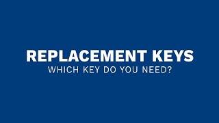Better Built - Key Replacement