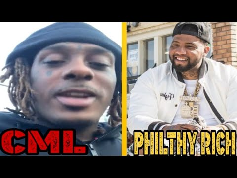 CML Previews Clip Of Philthy Rich Verse On New Collab + Talks Being Cool With PR