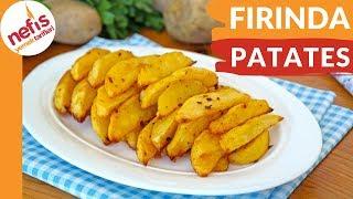 İŞte Bu Kadar Kolay Fırında Baharatlı Patates Yapımı