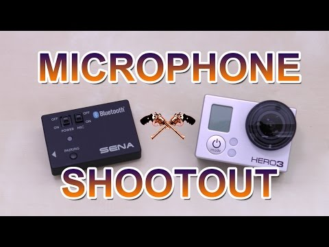 Mic shootout: GoPro vs SENA GoPro Pack  ((EN))