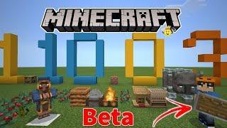 ⭐Tudo que Chegou no Minecraft 1.10.0.4 Beta (Escudo🛡️)