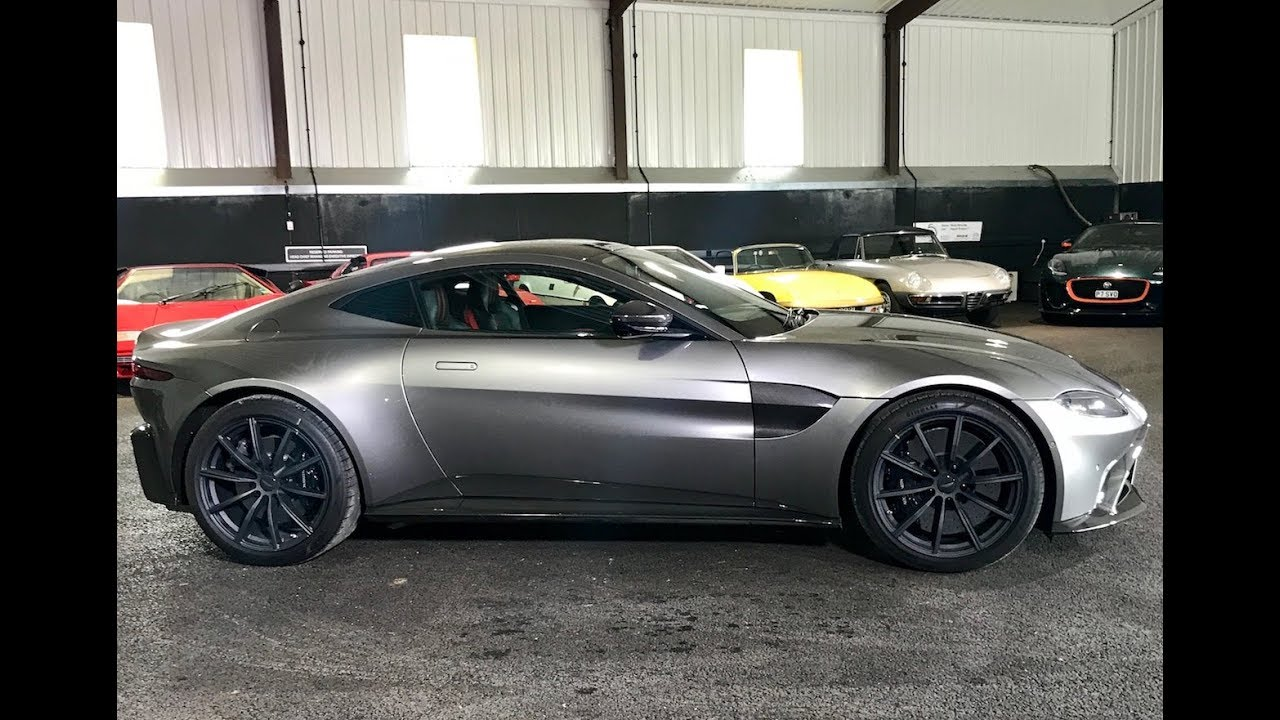 2019 Aston Martin Vantage Drive And Review Youtube