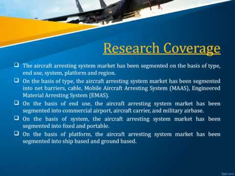 Aircraft Arresting System Forecast to 2022