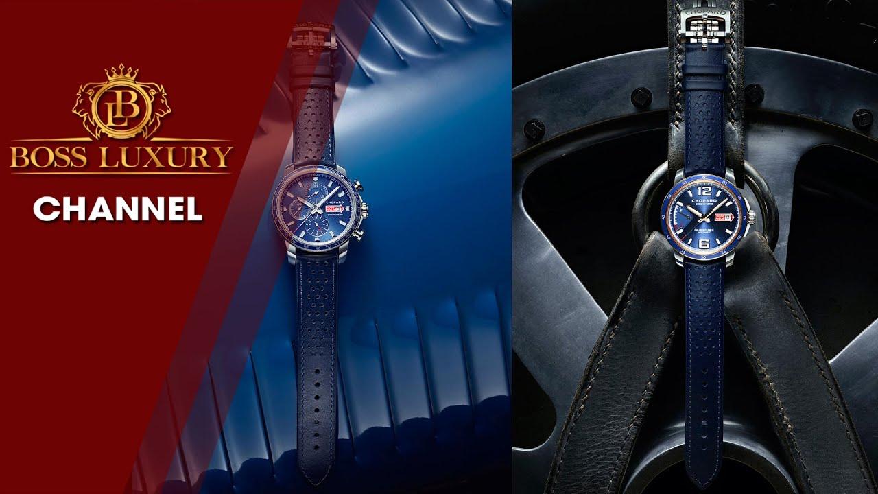 Bộ đôi đồng hồ CHOPARD tôn vinh tinh thần cuộc đua Mille Miglia