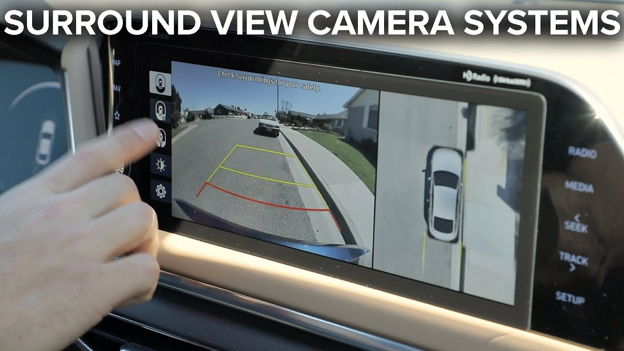 360 Degree Surround View Cameras How Do They Work Ride Tech Youtube