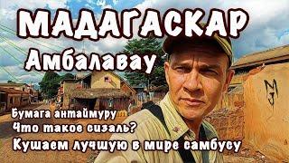Мадагаскар город Амбалавау - самая вкусная самбуса именно здесь