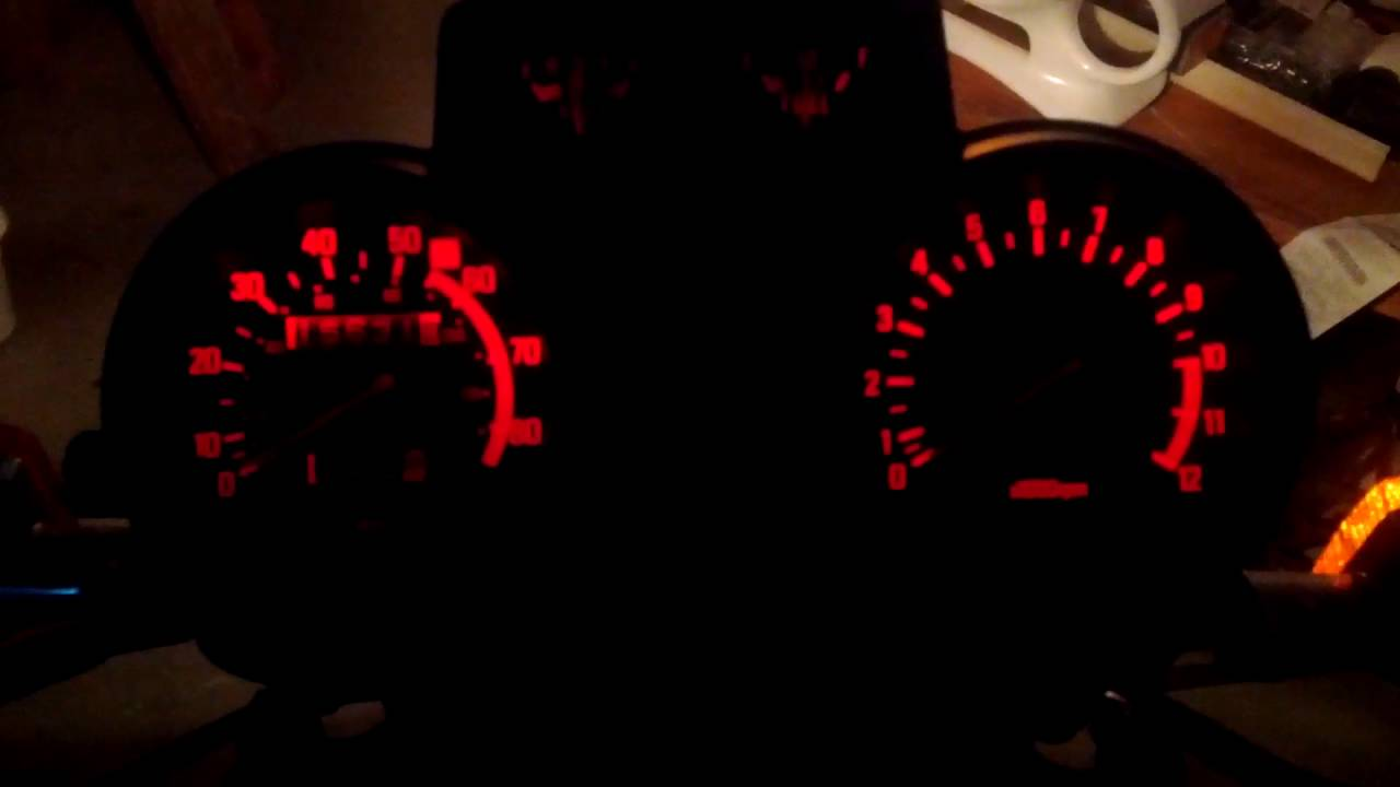Speedometer and Tachometer ratios - once and for all