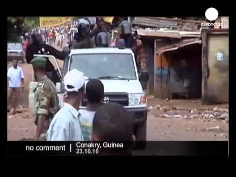 Clashes in Guinea after presidential election - no comment