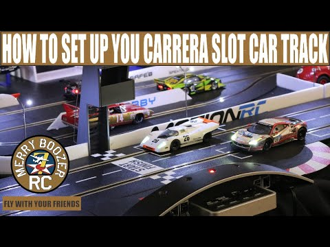 How To Set Up Your Carrera Digital Slot Car Track (Breaks, Throttle, Lane Change, Code Cars,Fuel)