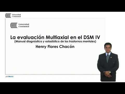 La evaluación Multiaxial en el DSM IV