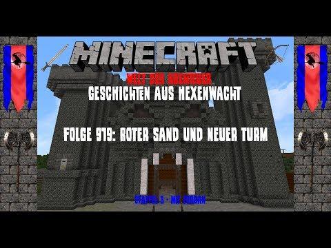 Folge 919: Roter Sand und neuer Turm - Minecraft Welt der Abenteuer [Let's Play Deutsch]