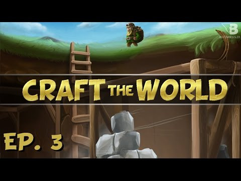 Digging for Iron!  Ep. 3  Craft the World  Let's Play