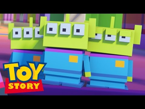Crossy Roads the Animated Series | Toy Story | Disney