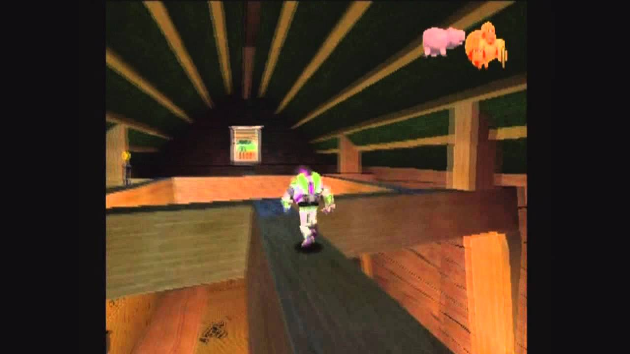 Toy Story 2 Ps1 Playthrough Level 1 Andy 39 S House Youtube