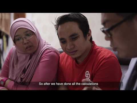 Singapore Client Testimonial For Property Agent Video - Rauf & Suhaida