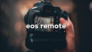Conectar cámaras Canon al celular – EOS Remote Wi-Fi