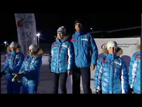 Cross Country Sprint - Prize Giving Ceremonies - IPC Nordic Skiing World Championships